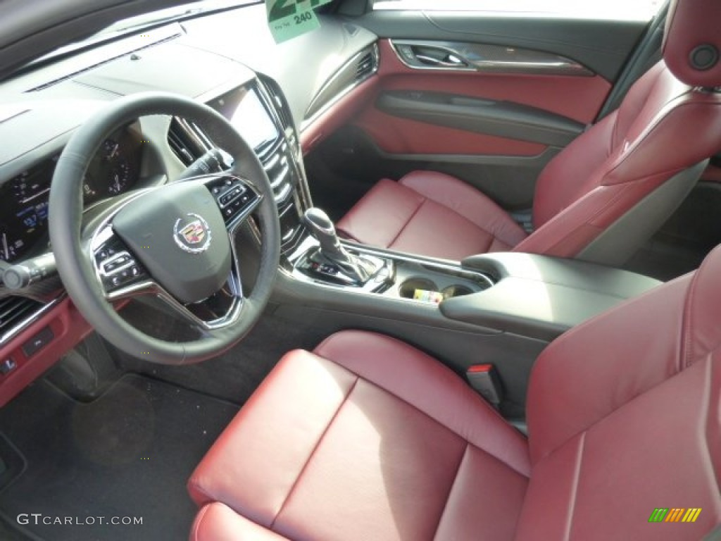 2013 Cadillac Ats 2 0 L Turbo >> Morello Red Jet Black Accents Interior 2013 Cadillac Ats 2 0l Turbo