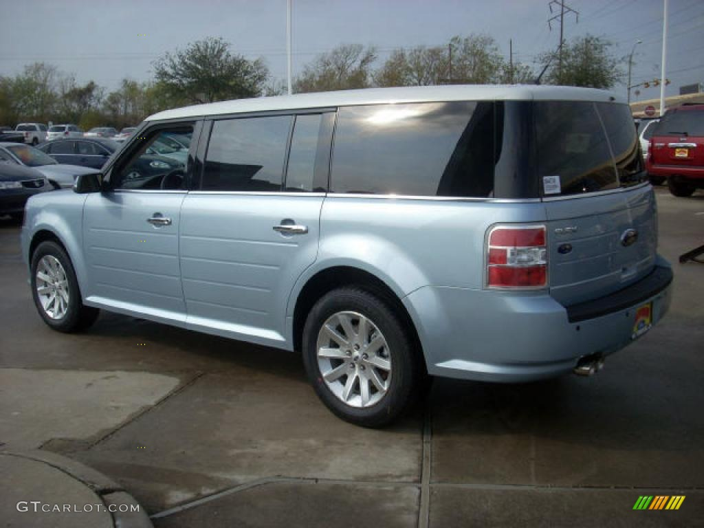 2009 light ice blue metallic ford flex sel 7695174 photo. Black Bedroom Furniture Sets. Home Design Ideas