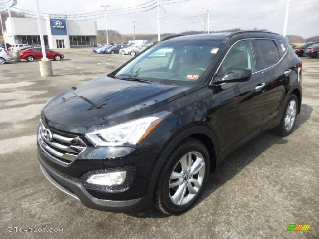 twilight black 2013 hyundai santa fe sport 2 0t awd. Black Bedroom Furniture Sets. Home Design Ideas