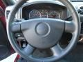 2010 GMC Canyon Ebony Interior Steering Wheel Photo