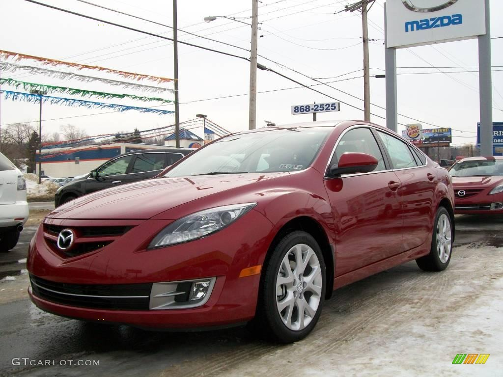 2009 sangria red mica mazda mazda6 s grand touring 7702953 car color galleries. Black Bedroom Furniture Sets. Home Design Ideas