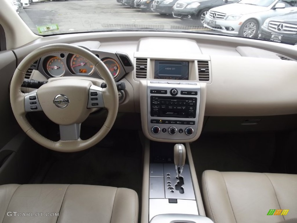2007 Nissan Murano Sl Awd Cafe Latte Dashboard Photo