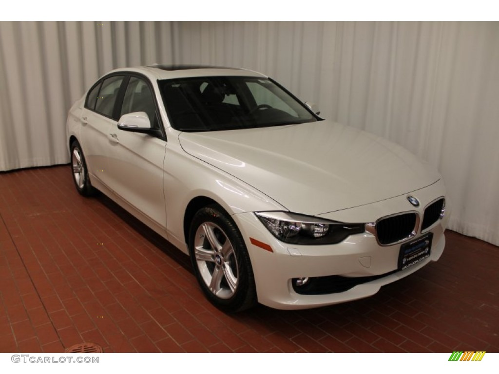 Mineral White Metallic 2013 Bmw 3 Series 328i Xdrive Sedan