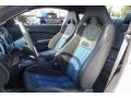 2013 Ford Mustang Shelby Charcoal Black/Blue Accent Recaro Sport Seats Interior Front Seat Photo