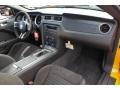2013 Ford Mustang Charcoal Black/Recaro Sport Seats Interior Dashboard Photo