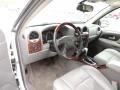 2005 GMC Envoy Light Gray Interior Prime Interior Photo