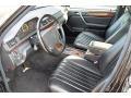 Black Interior Photo for 1995 Mercedes-Benz E #77366355