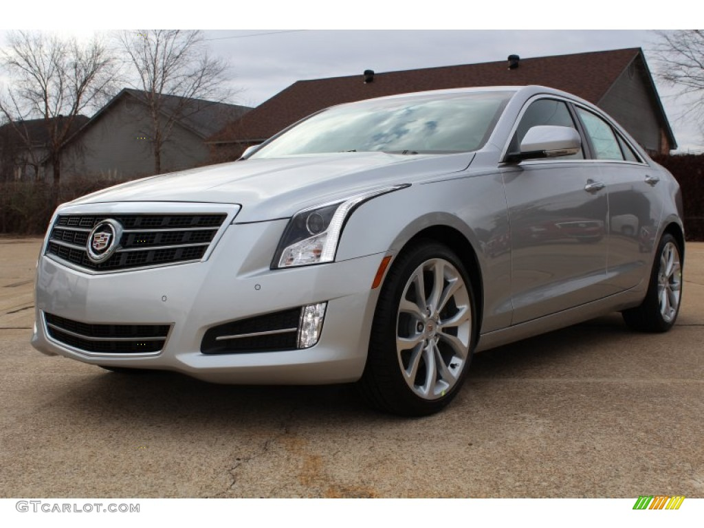 2013 Radiant Silver Metallic Cadillac Ats 2 0l Turbo Performance 77361603 Car