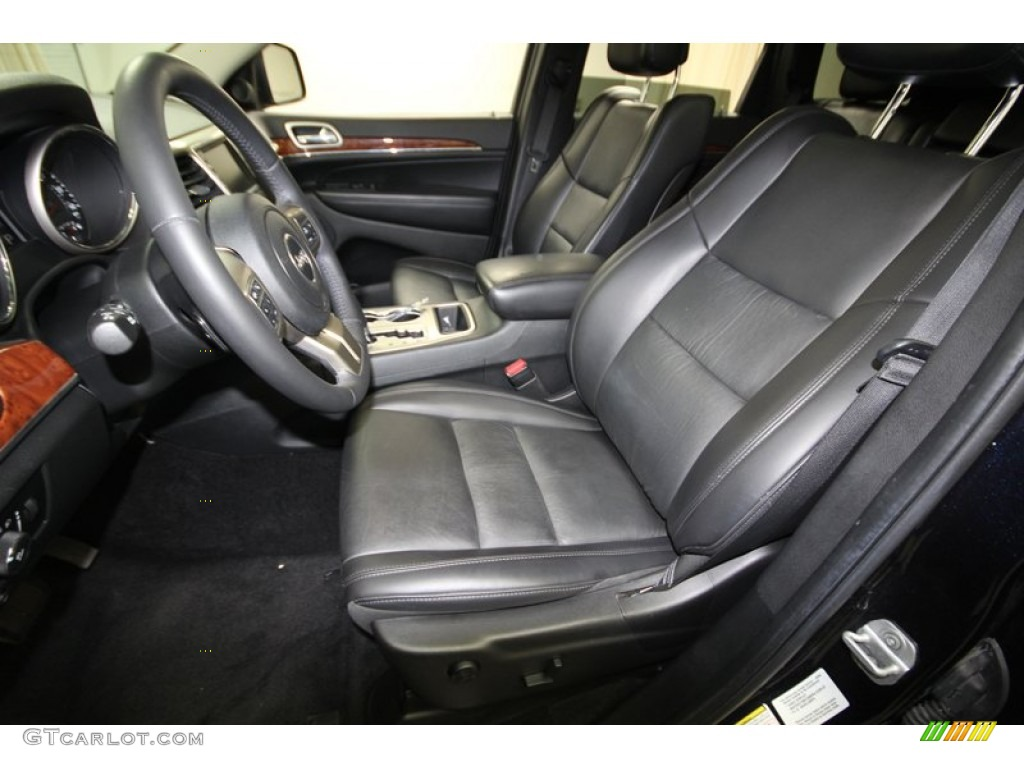 Black Interior 2011 Jeep Grand Cherokee Limited Photo 77389783