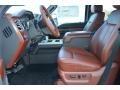 2013 Blue Jeans Metallic Ford F250 Super Duty King Ranch Crew Cab 4x4  photo #10