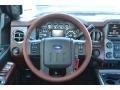 2013 Blue Jeans Metallic Ford F250 Super Duty King Ranch Crew Cab 4x4  photo #29