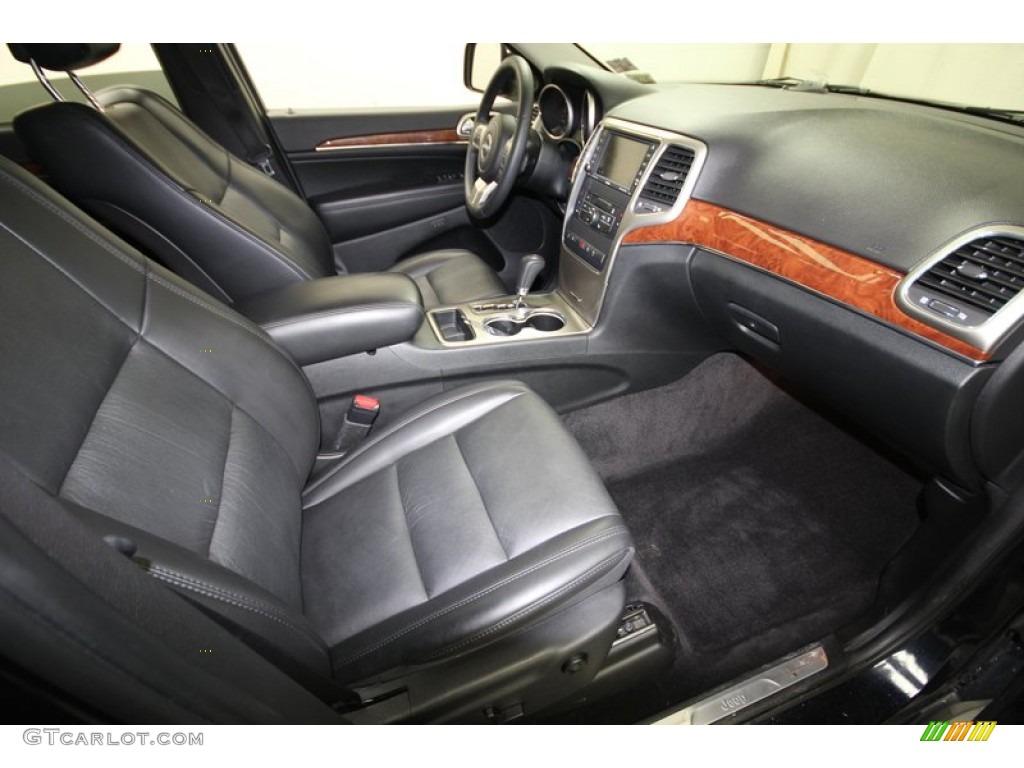Black Interior 2011 Jeep Grand Cherokee Limited Photo 77390451