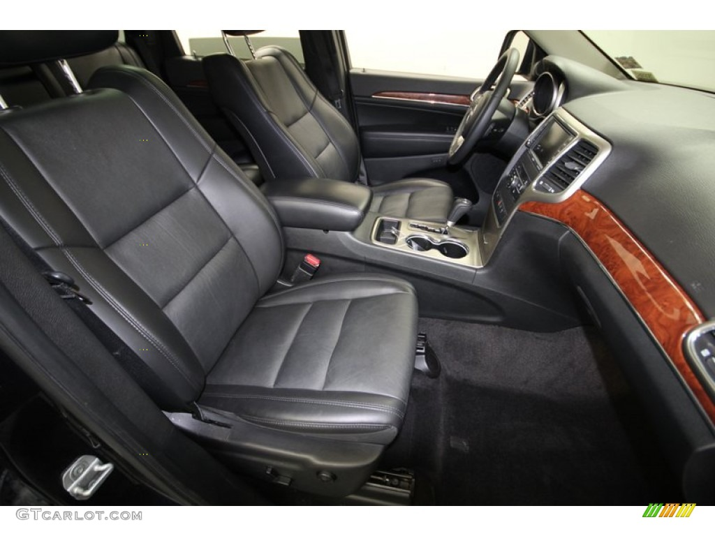 Black Interior 2011 Jeep Grand Cherokee Limited Photo 77390507