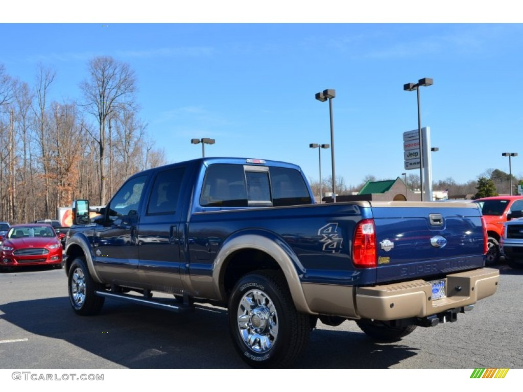 2013 blue jeans metallic ford f250 super duty king ranch