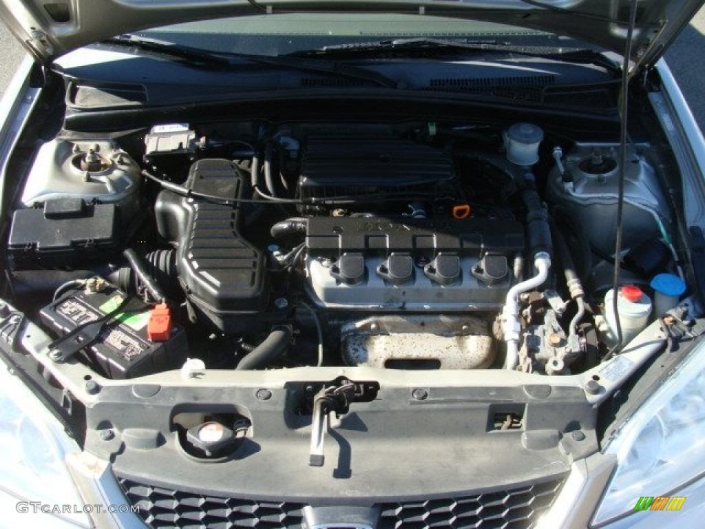2005 Honda Civic LX Coupe Engine Photos | GTCarLot.com