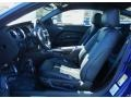 2014 Ford Mustang Charcoal Black/Cashmere Accent Interior Front Seat Photo