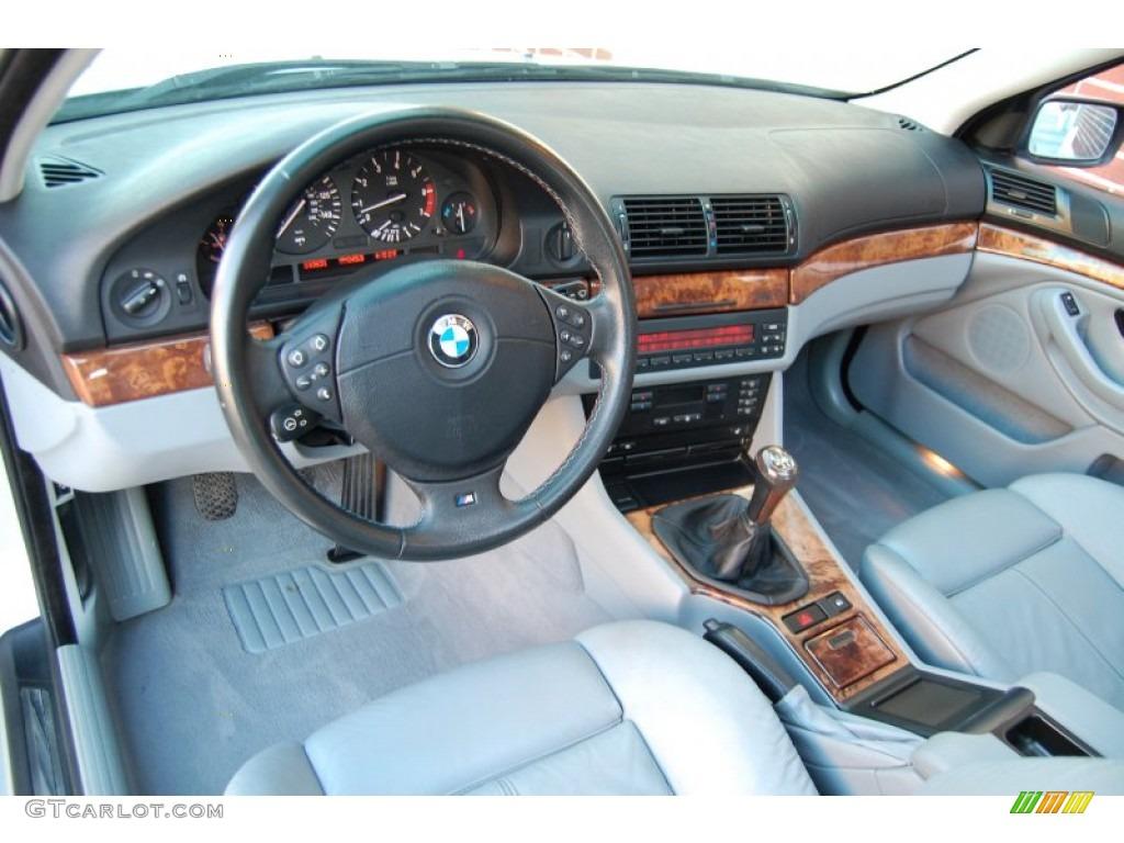 Grey Interior 1999 Bmw 5 Series 540i Sedan Photo 77404065