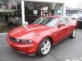 Red Candy Metallic 2010 Ford Mustang Gallery