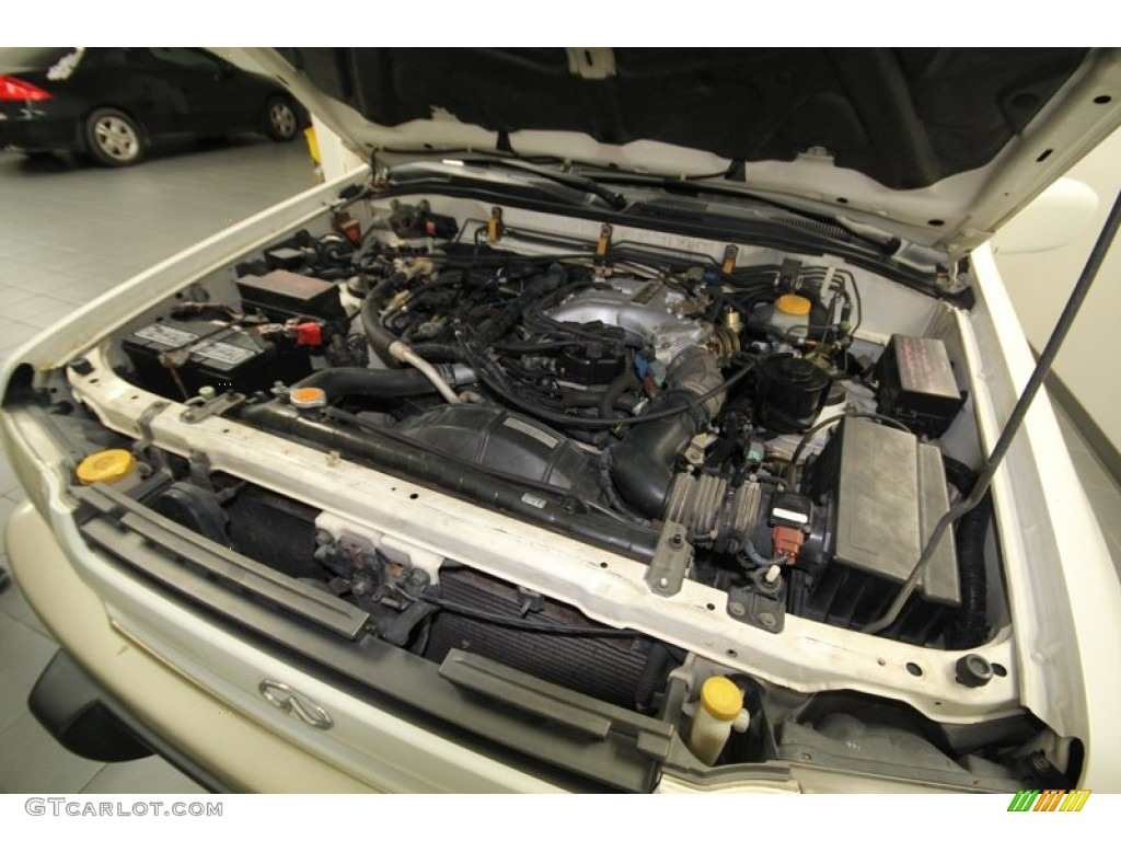 2000 Infiniti Qx4 Standard Qx4 Model Engine Photos