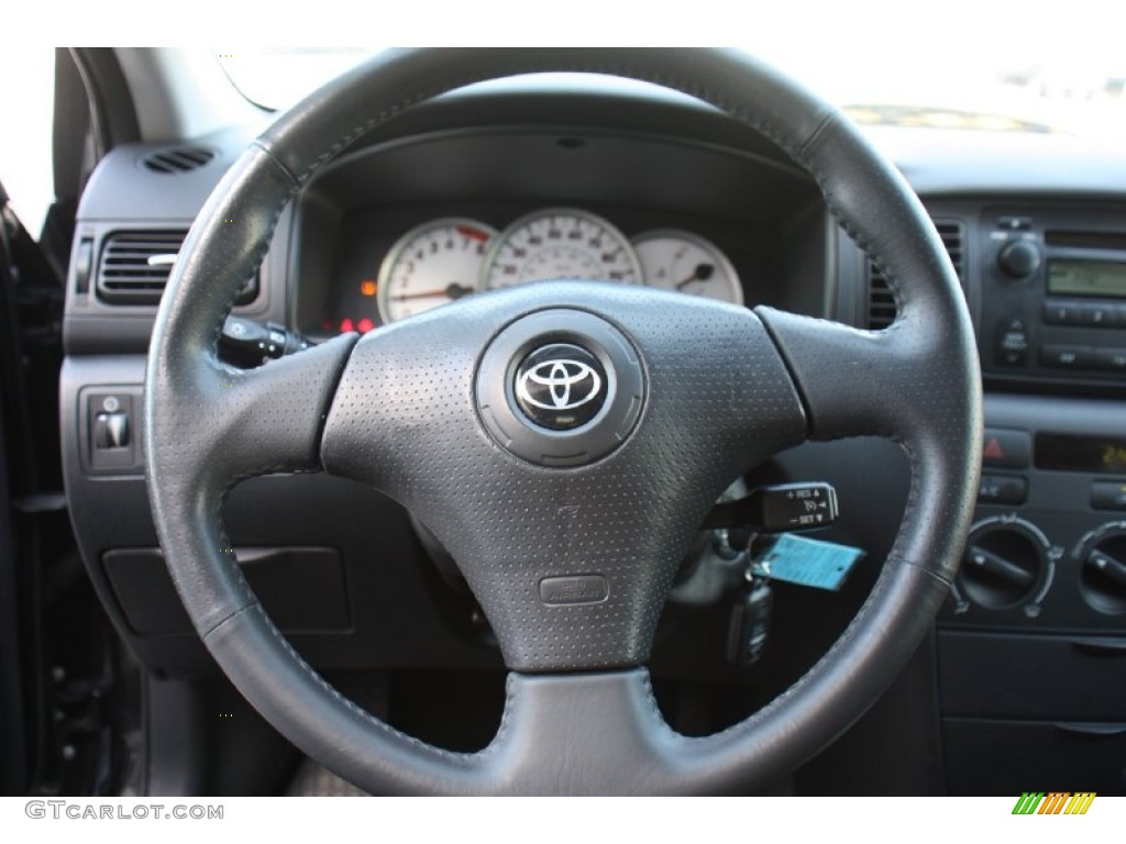 2006 toyota corolla s steering wheel photos. Black Bedroom Furniture Sets. Home Design Ideas