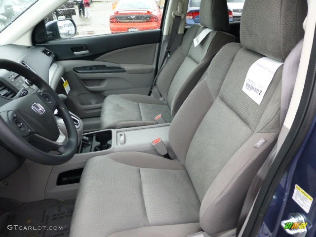 Gray interior 2013 honda cr v ex awd photo 77410197 for Honda cr v 2013 interior
