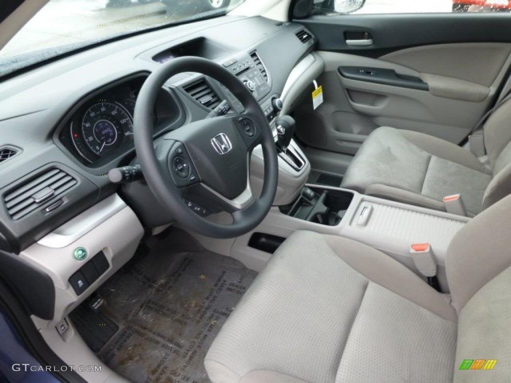 Gray interior 2013 honda cr v ex awd photo 77410282 for Honda cr v 2013 interior
