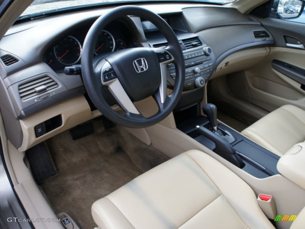 Ivory Interior 2008 Honda Accord Lx Sedan Photo 77411403