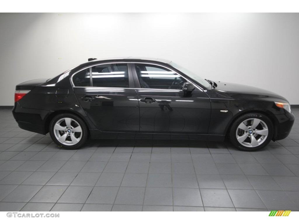 2005 Black Sapphire Metallic Bmw 5 Series 530i Sedan 77398957 Photo 7 Gtcarlot Com Car Color Galleries