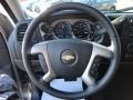 Ebony Steering Wheel Photo for 2013 Chevrolet Silverado 1500 #77416906