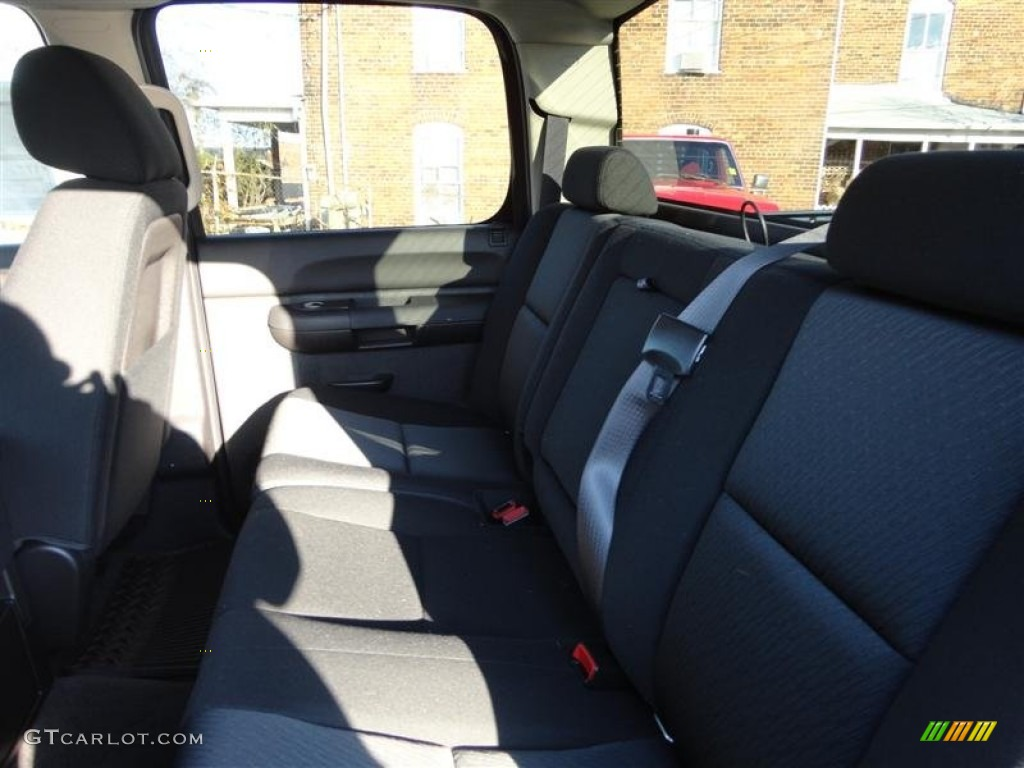 2013 Silverado 1500 LT Crew Cab 4x4 - Black / Ebony photo #9