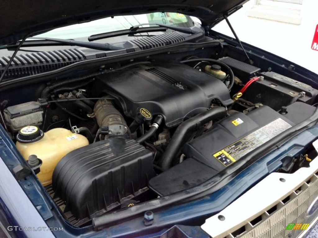 2003 Ford Explorer Eddie Bauer 4x4 Engine Photos