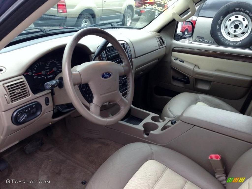 Medium Parchment Beige Interior 2003 Ford Explorer Eddie ...