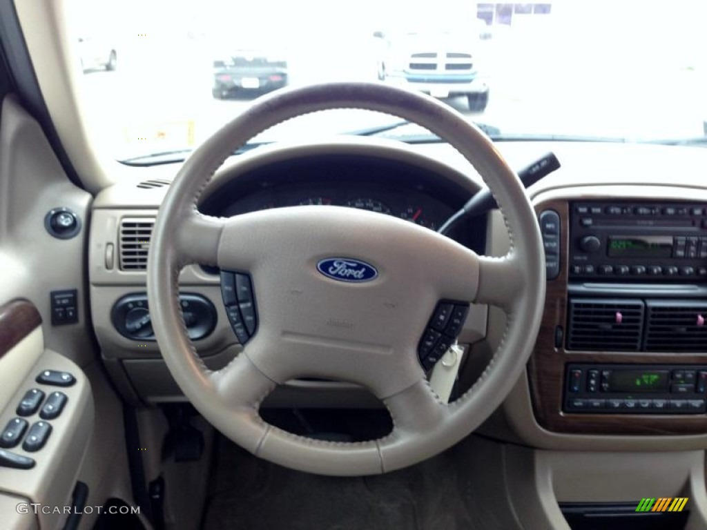 2002 Ford Explorer Eddie Bauer >> 2003 Ford Explorer Eddie Bauer 4x4 Steering Wheel Photos ...