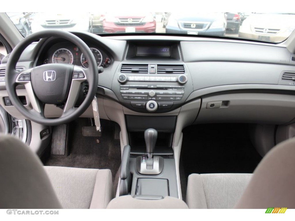 2010 Honda Accord Lx P Sedan Gray Dashboard Photo