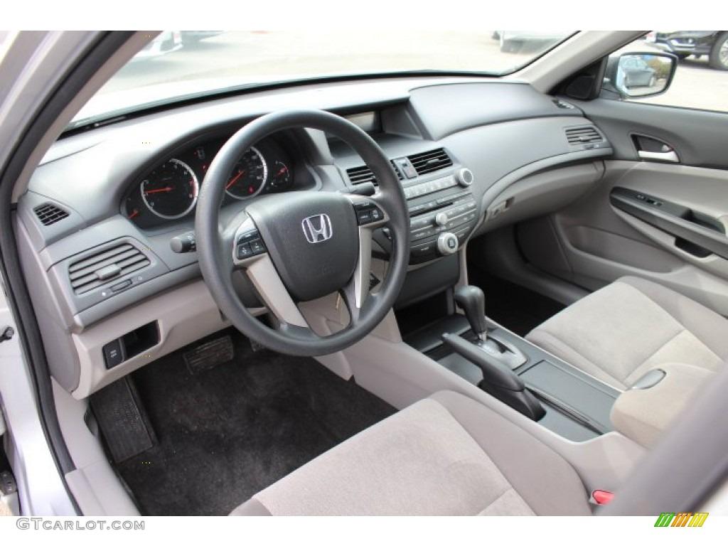 Gray Interior 2010 Honda Accord LX P Sedan Photo #77422635