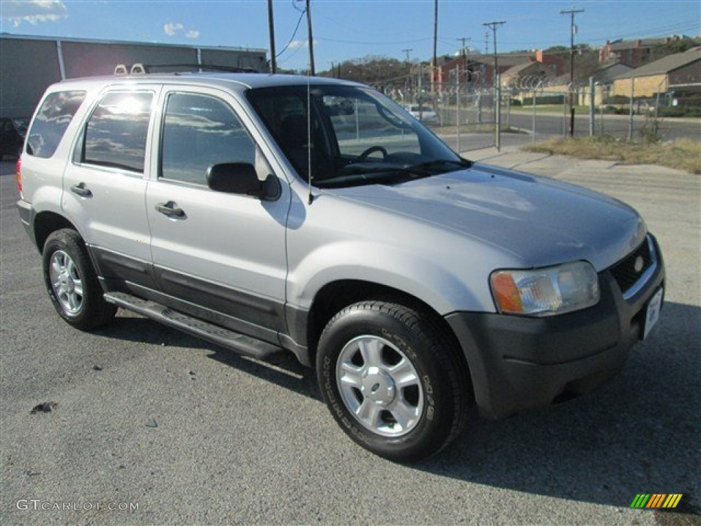 satin silver metallic 2003 ford escape xlt v6 exterior. Black Bedroom Furniture Sets. Home Design Ideas