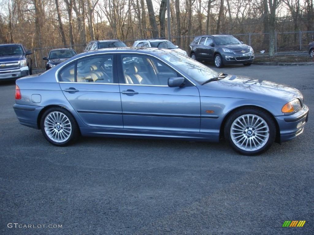 steel blue metallic 2001 bmw 3 series 330i sedan exterior. Black Bedroom Furniture Sets. Home Design Ideas