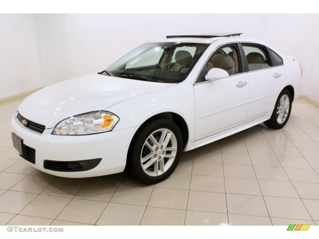 Summit White 2011 Chevrolet Impala Ltz Exterior Photo