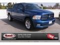 Deep Water Blue Pearl 2010 Dodge Ram 1500 SLT Crew Cab