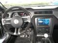 2013 Ford Mustang Shelby Charcoal Black/Black Accent Recaro Sport Seats Interior Dashboard Photo