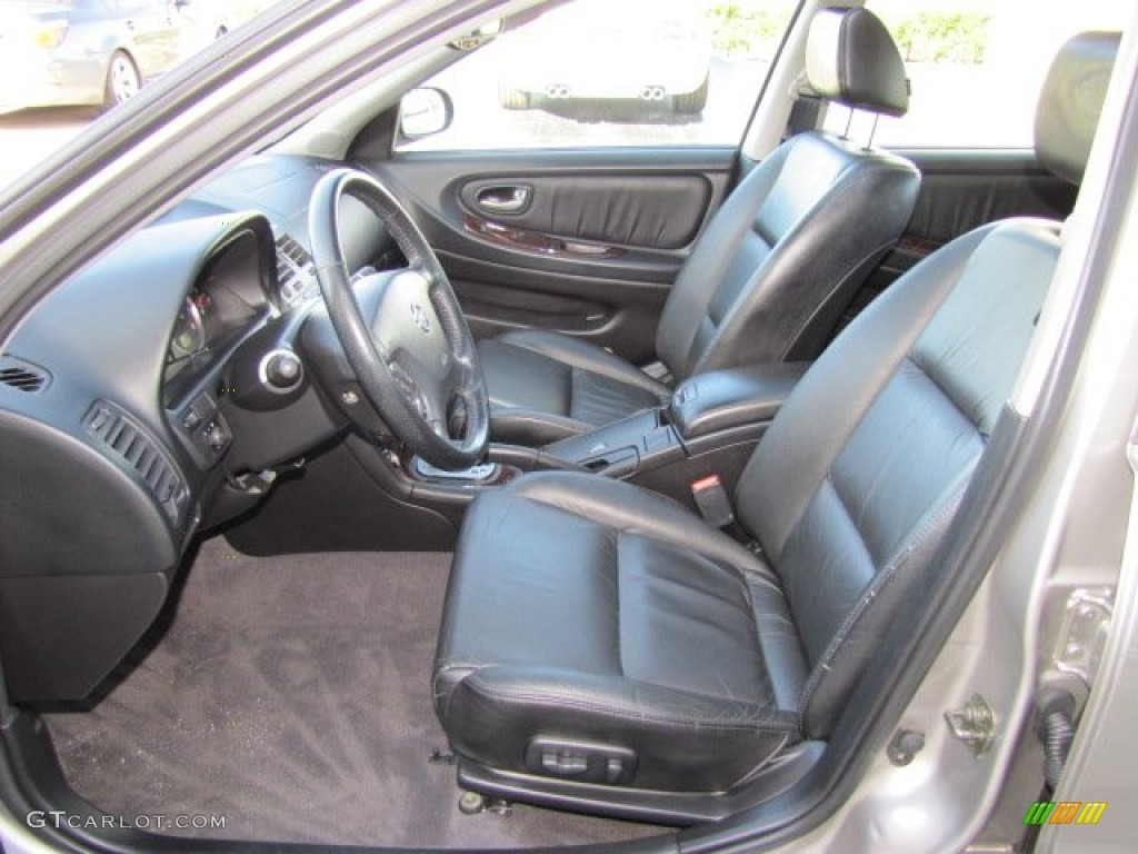 Black Interior 2002 Nissan Maxima Gle Photo 77456270