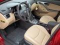 Beige Prime Interior Photo for 2013 Hyundai Elantra #77457930
