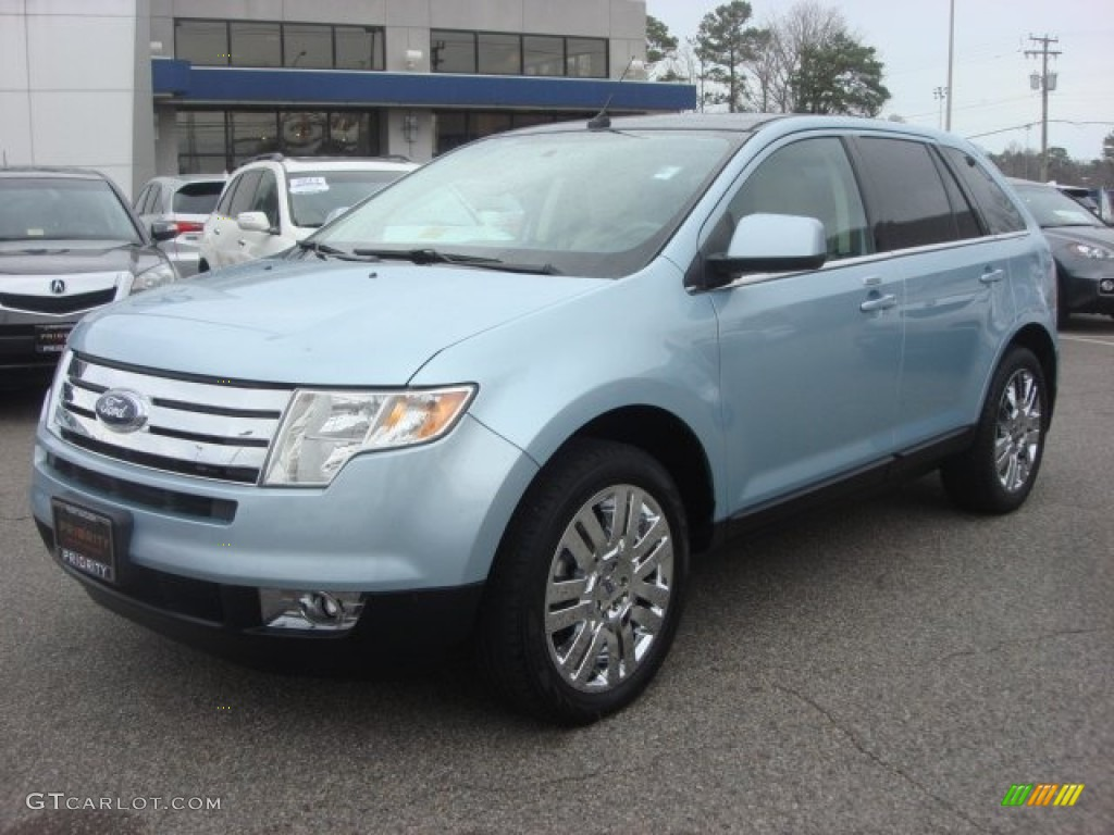 light ice blue metallic 2008 ford edge limited exterior. Black Bedroom Furniture Sets. Home Design Ideas