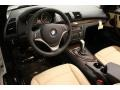2013 BMW 1 Series Savanna Beige Interior Prime Interior Photo