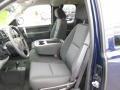 Dark Titanium Front Seat Photo for 2011 Chevrolet Silverado 1500 #77486208