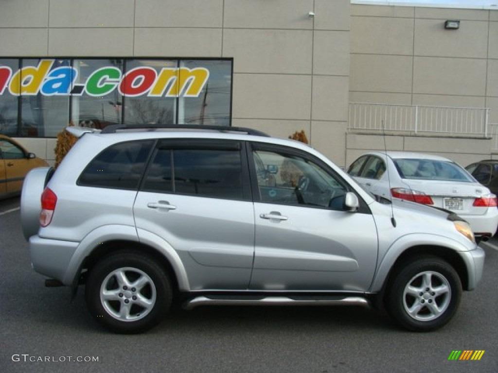 Titanium Metallic 2003 Toyota Rav4 4wd Exterior Photo 77488178