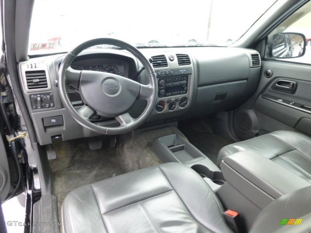 2006 chevrolet colorado lt crew cab 4x4 interior color for Co interior