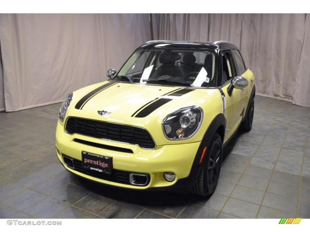 2012 Bright Yellow Mini Cooper S Countryman All4 AWD #77473843 ...
