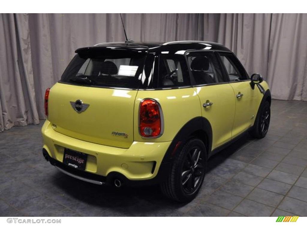 2012 Bright Yellow Mini Cooper S Countryman All4 AWD #77473843 Photo