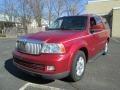 2005 Vivid Red Metallic Lincoln Navigator Luxury  photo #2